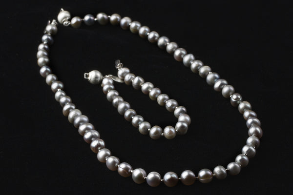 Dove Grey Convertible Pearls