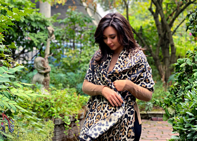 Leopard Sauvage Scarf