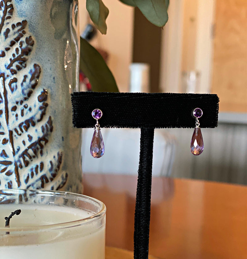 Gemstone Briolette Earrings