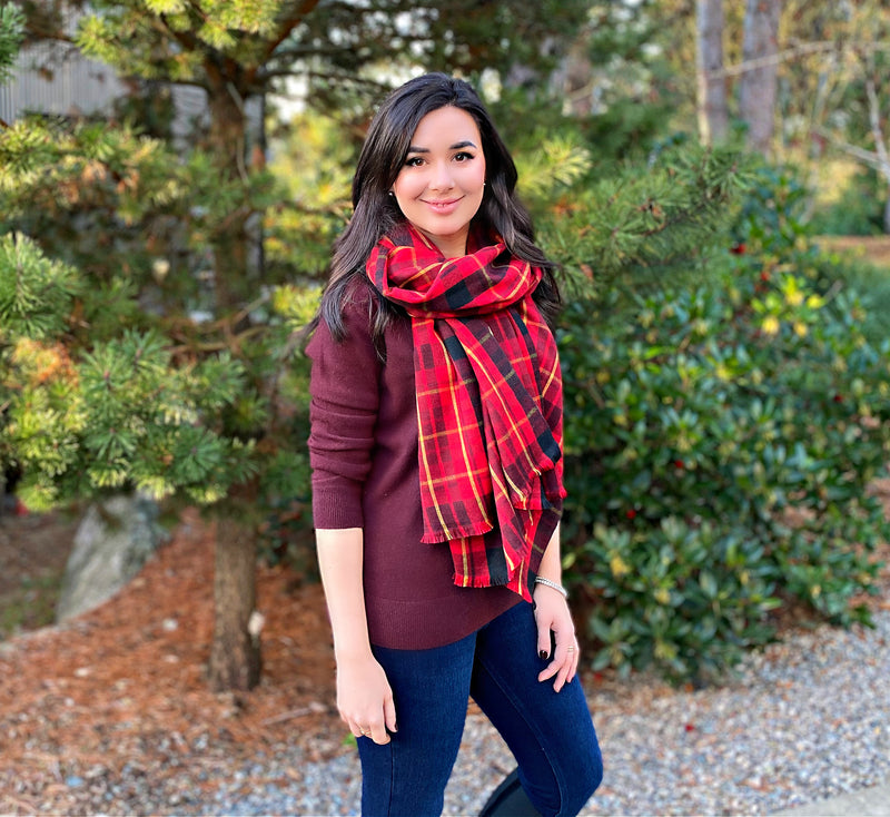 Holiday Tartan Limited Edition Cashmere Scarf