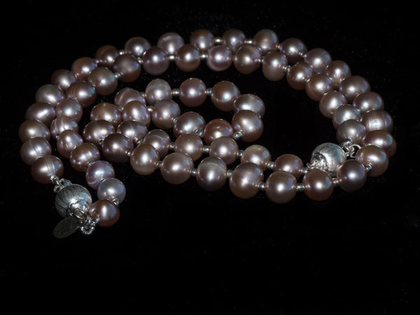 Lavender Blooms Convertible Pearls