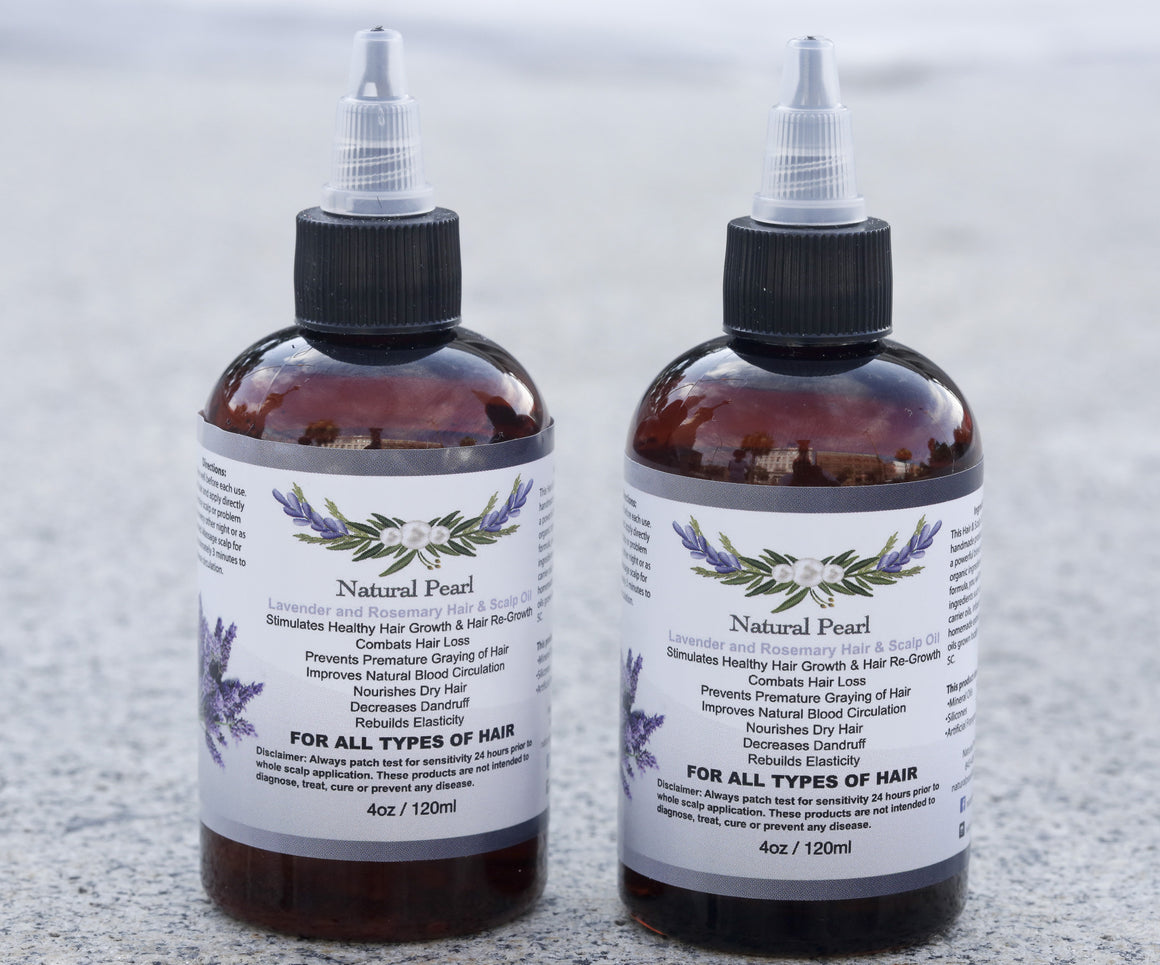 Lavender and Rosemary Hair & Scalp Oil
