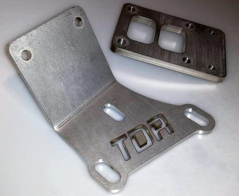 TDR LSX Turbo Bracket and Flange - V8SChassis