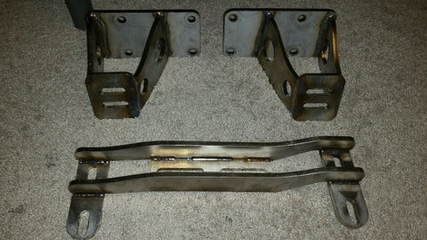 VH45DE 240SX Silvia Solid Engine and Transmission Mounts - V8SChassis