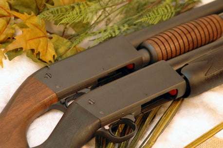 Ithaca Model 37 Defense Shotgun Wood Stock & Synthetic Stock
