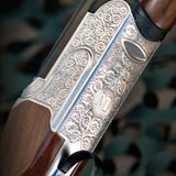Mossberg Silver Reserve II Field Over Under Shotgun Scroll Work