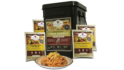 52 Serving Prepper Pack Wise Food Grab & Go Food Supply