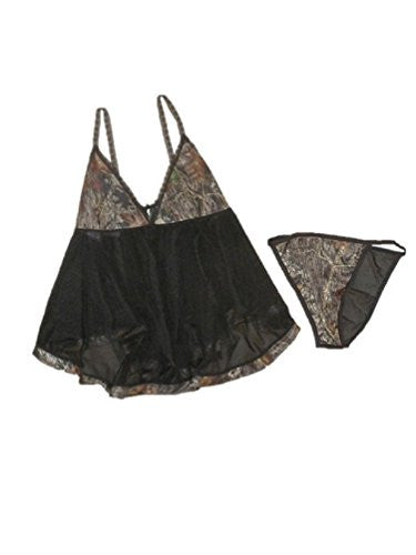 Mossy Oak Baby Doll Lingerie Set