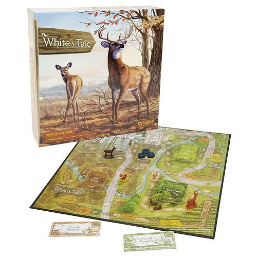 October Mountain White's Tail Explore Bow Hunting Board Game