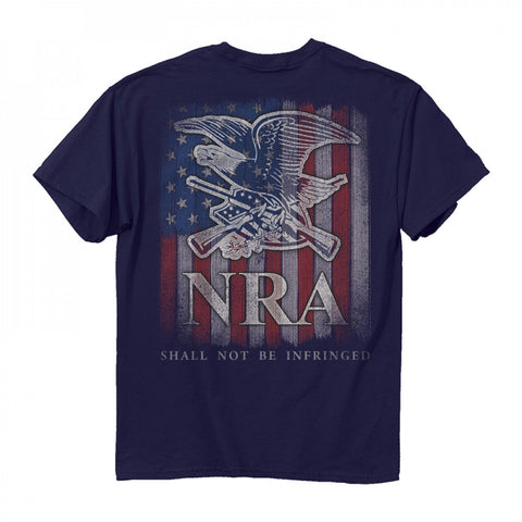Buck Wear NRA Keep and Bear Crew Neck T-Shirt Back