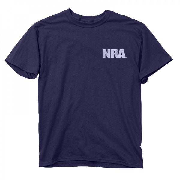 Buck Wear NRA Keep and Bear Crew Neck T-Shirt Front