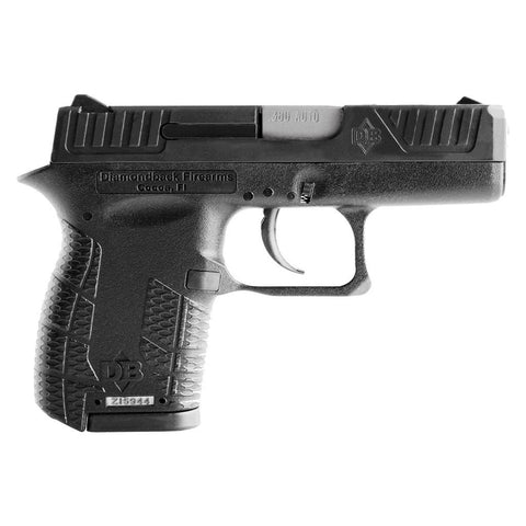 Diamondback DB380 .380 ACP Centerfire Subcompact Pistol With Black Finish