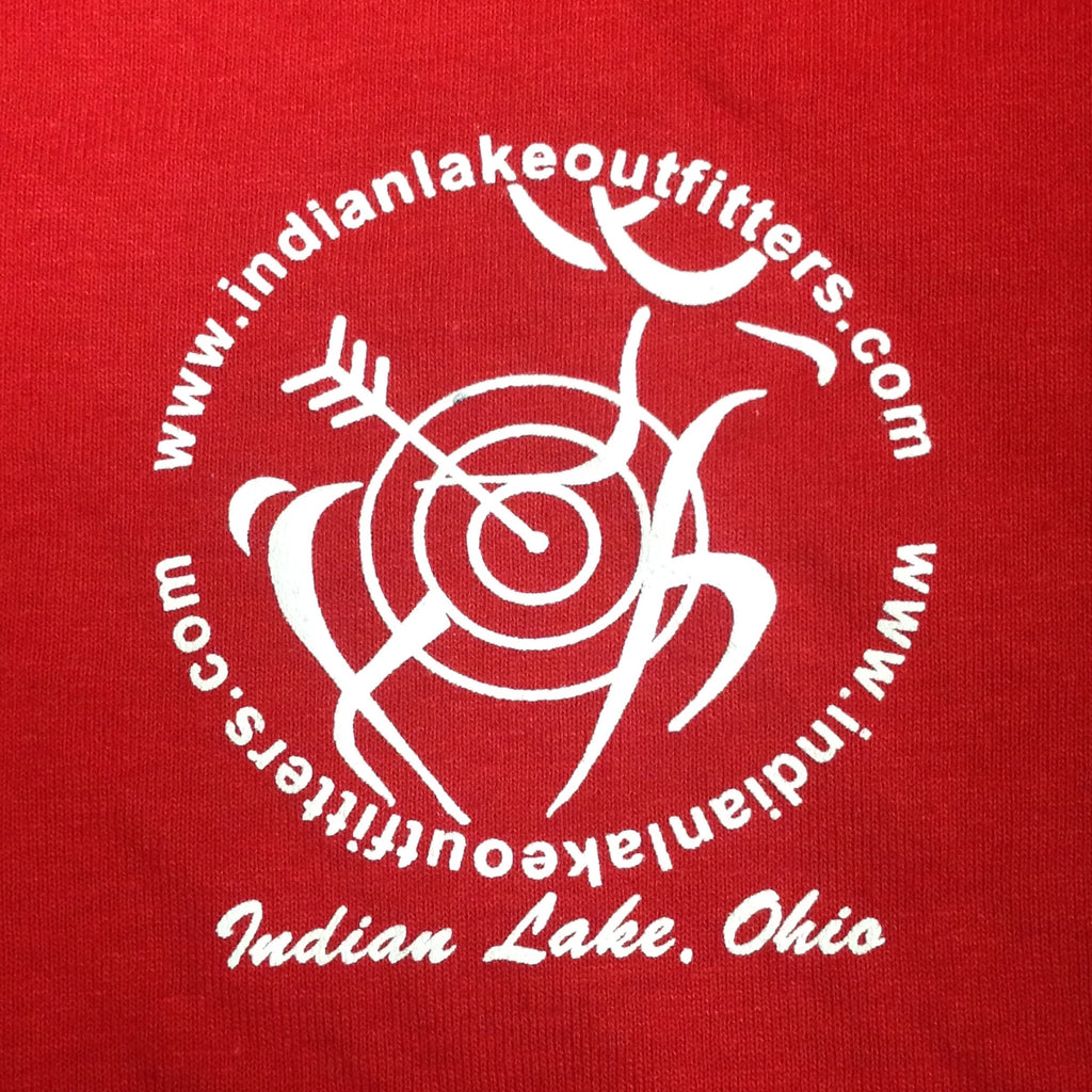 #TeamILO Hooded Sweatshirt Hoody Red