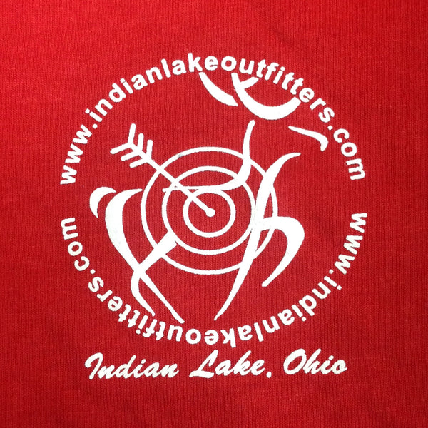 #TeamILO Crew Neck T-Shirt Red