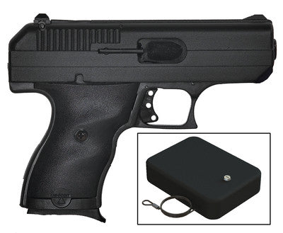 Hi-Point Firearms C9 9mm Centerfire Pistol in Matte Black w/ Snap Safe Lock Box