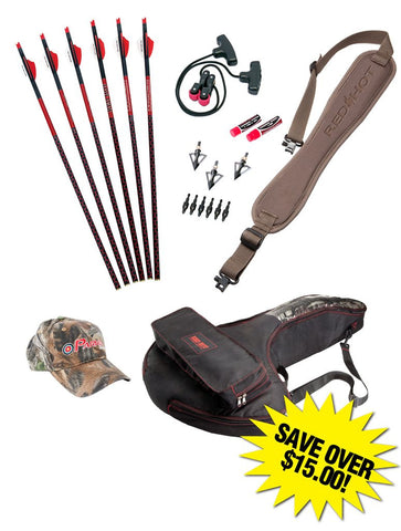 RED HOT Perfect Storm Crossbow Accessory Package