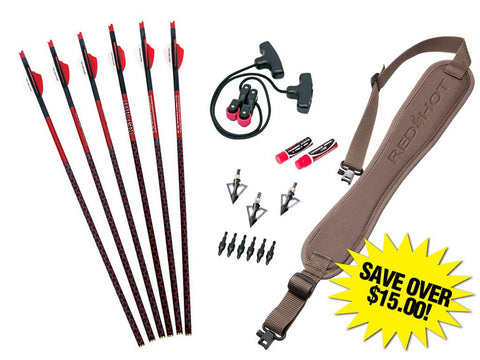 RED HOT Premium Crossbow Accessory Package