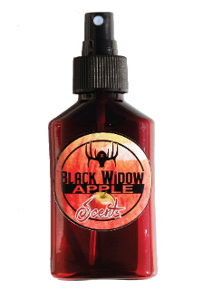 Black Widow Deer Lures 3oz. Apple Attractant Scent