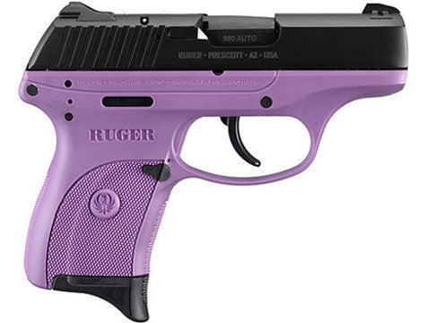 Ruger LC380 .380 Centerfire Pistol Lady Lilac