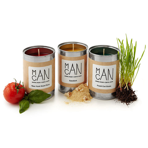 ManCans Manly Scented Candles