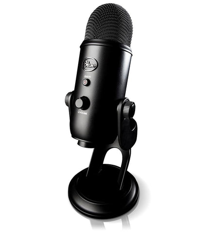 Blue Yeti USB Microphone (Black)