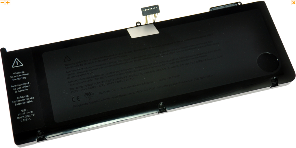 "Battery Apple MacBook Pro 15"" Unibody (Early 2011, Late 2011, Mid 2012) : A1382"