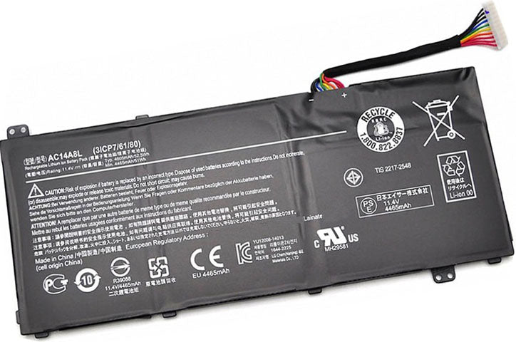 Battery Notebook Acer Aspire V15 Nitro VN7-571G Series