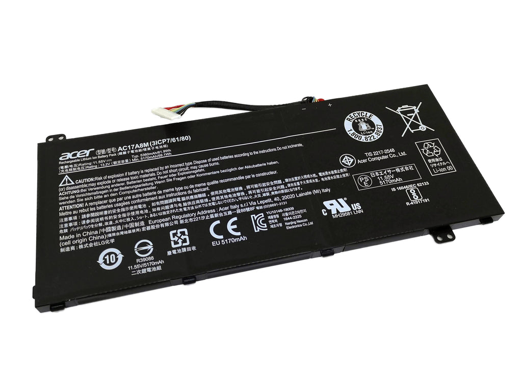 Battery Notebook Acer Spin 3 SP314-52 Series AC17A8M