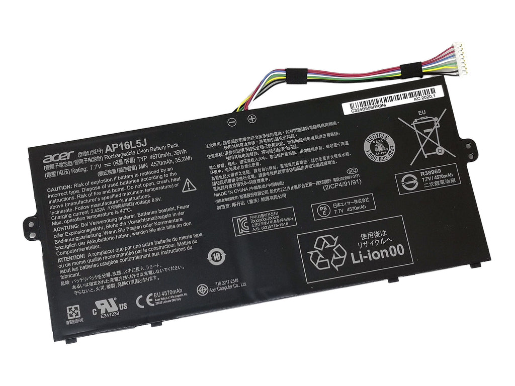 Battery Notebook Acer Swift 5 SF514-52T Series AP16L5J
