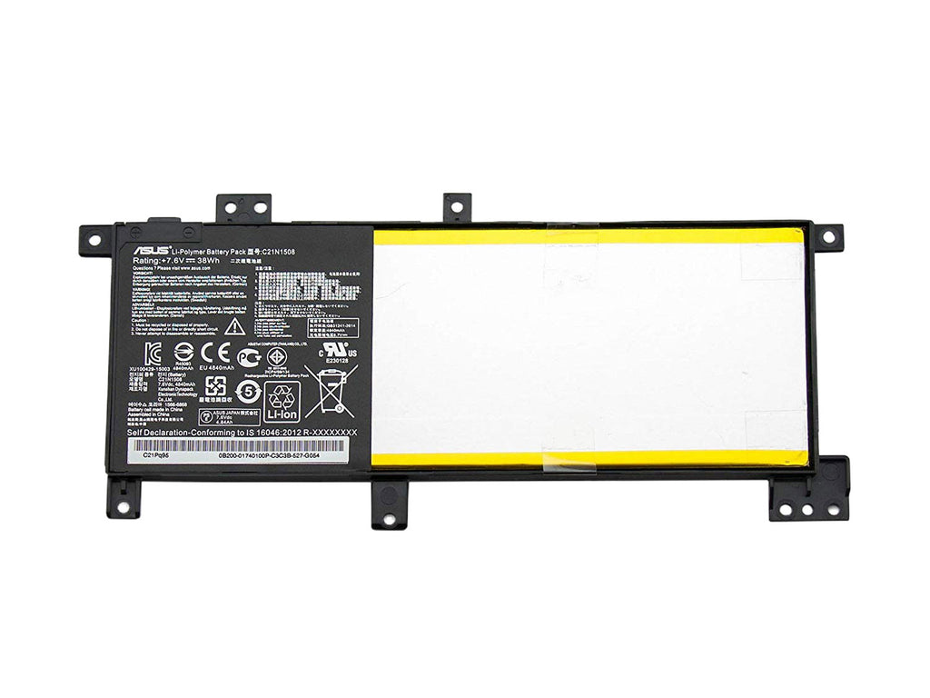 Battery Notebook Asus X456 K456 C21N1508 Series