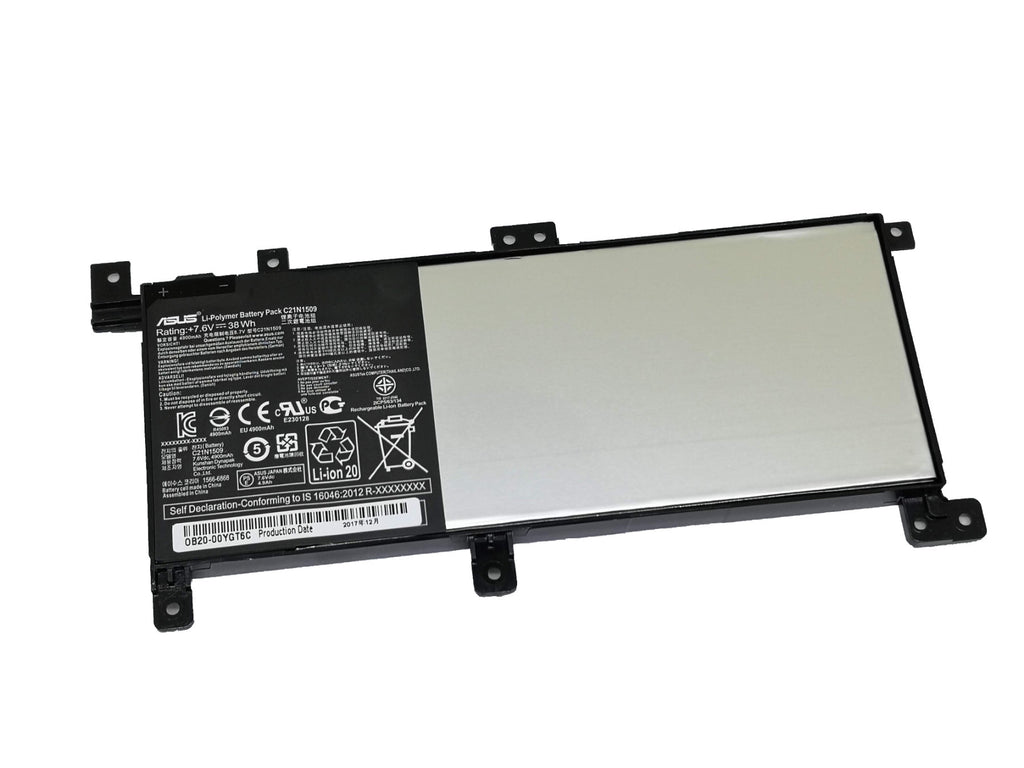 Battery Notebook Asus X556 K556 C21N1509 Series