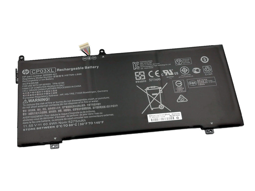 Battery Notebook HP Spectre X360 13-AE Series CP03XL