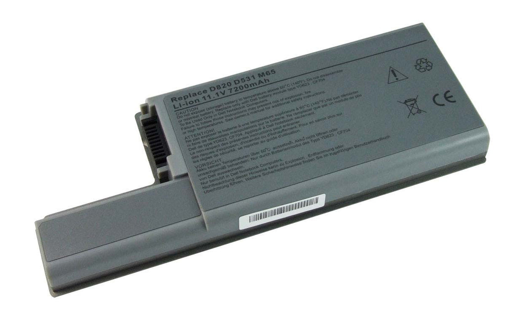 แบตเตอรี่ Battery Dell Latitude D820 Series : ร้าน Battery Depot - 1