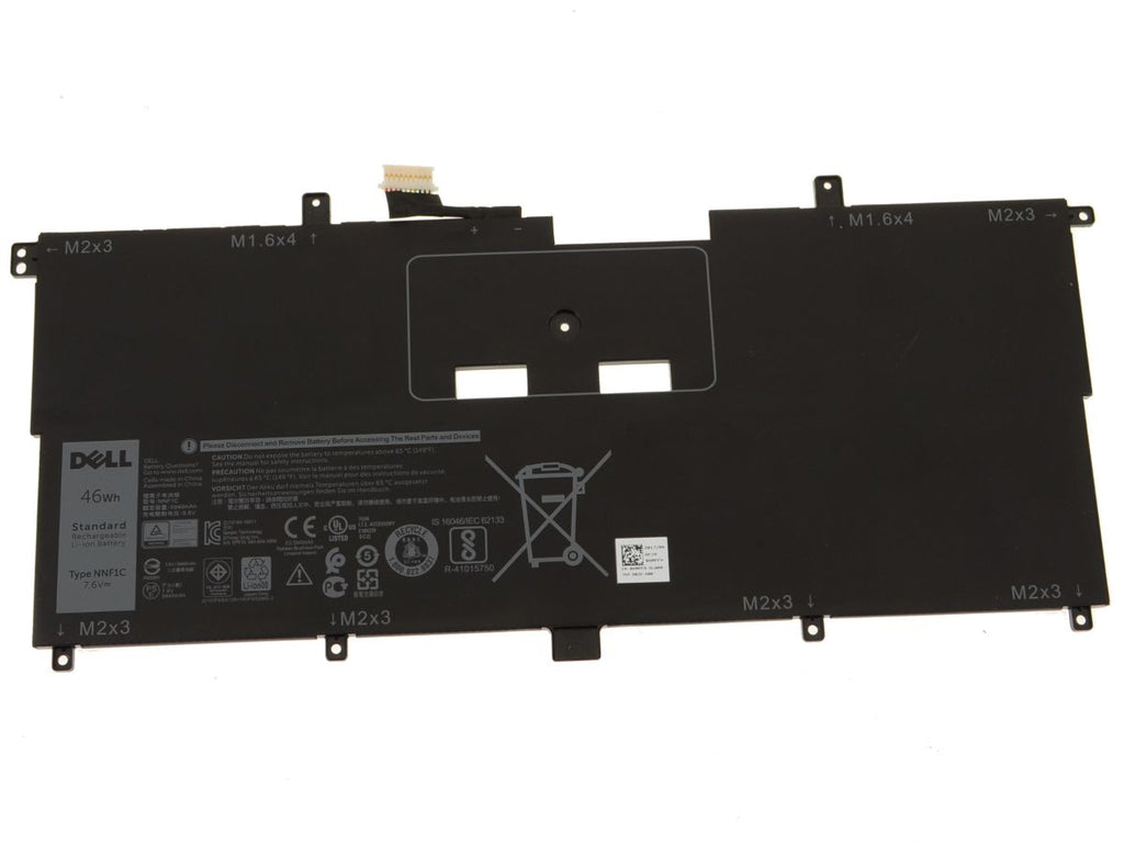 Battery Notebook Dell XPS 13 9365 2-in-1 Series