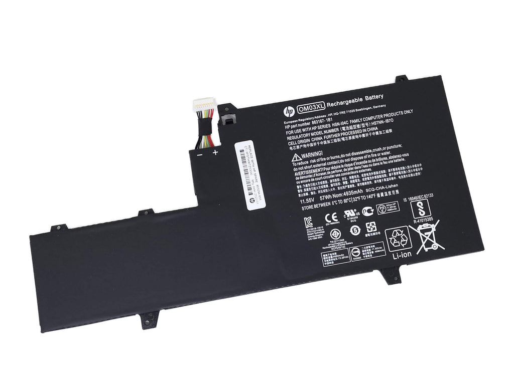 Battery Notebook HP EliteBook x360 1030 G2 Series OM03XL