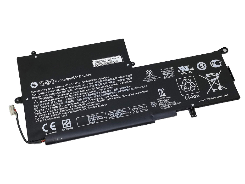 Battery Notebook HP Spectre Pro x360 G1 G2 Series PK03XL