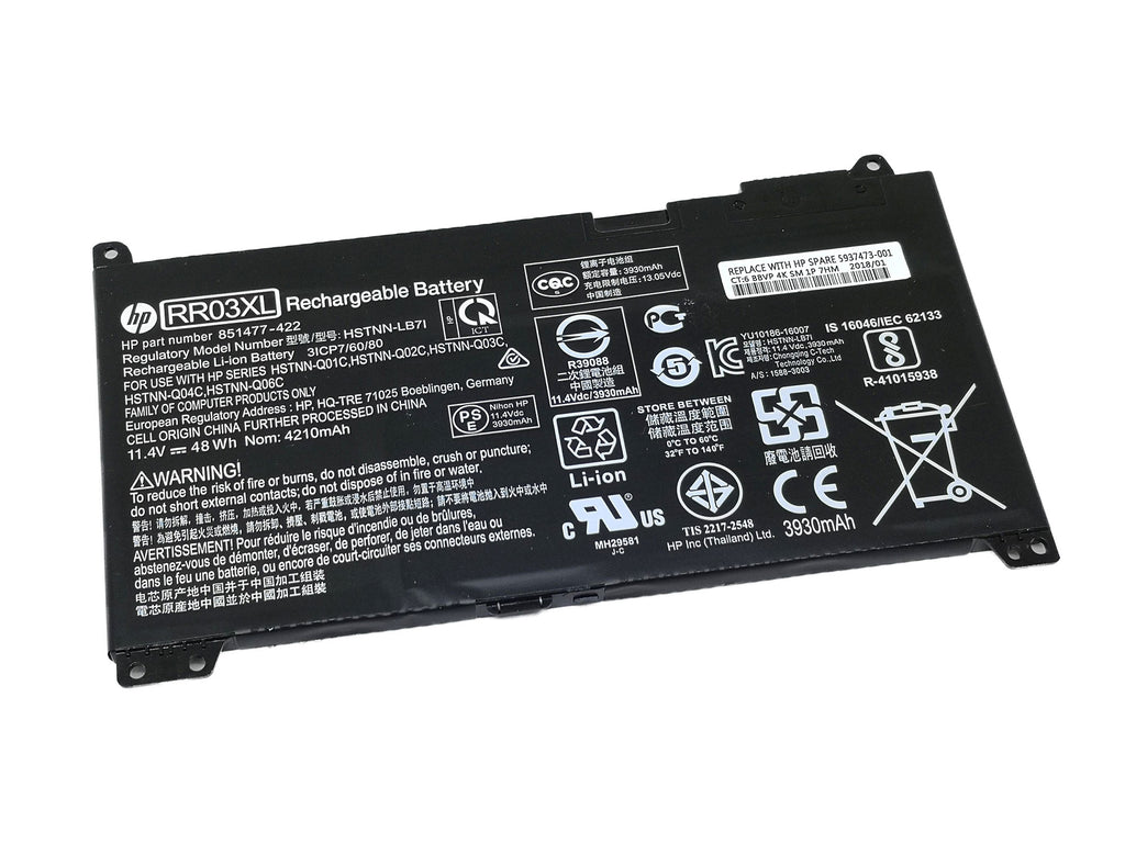 Battery Notebook HP Probook 440 G4 Series : RR03XL
