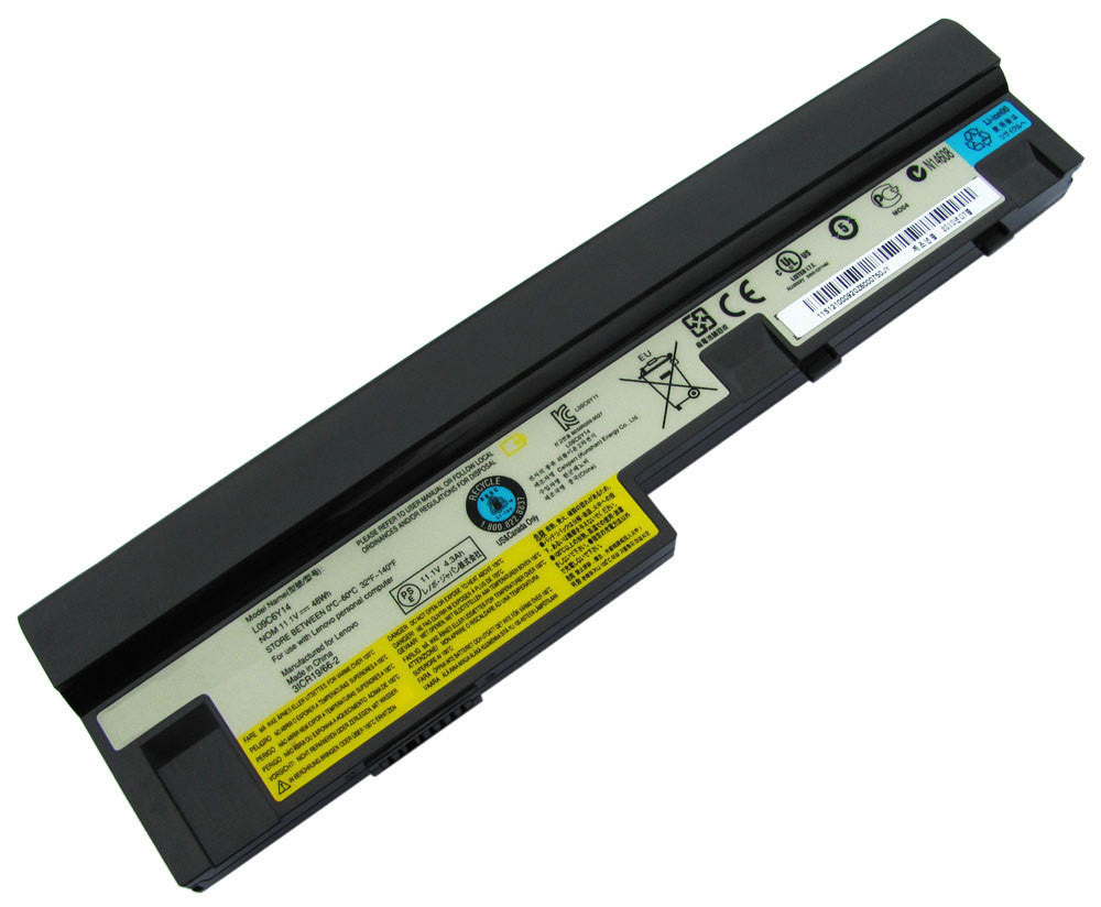 แบตเตอรี่ Battery Lenovo IdeaPad S9 S10 S12 Series : ร้าน Battery Depot - 1