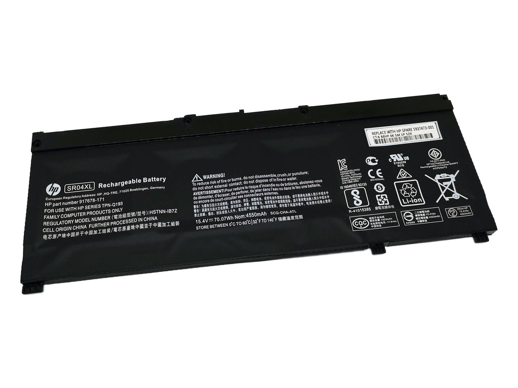 Battery Notebook HP Omen 15-CE 2017 Series SR04XL