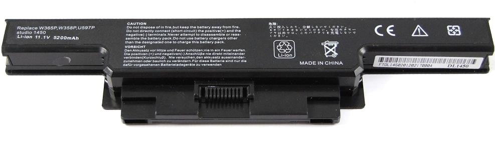 Battery Notebook Dell Studio 1450 Series