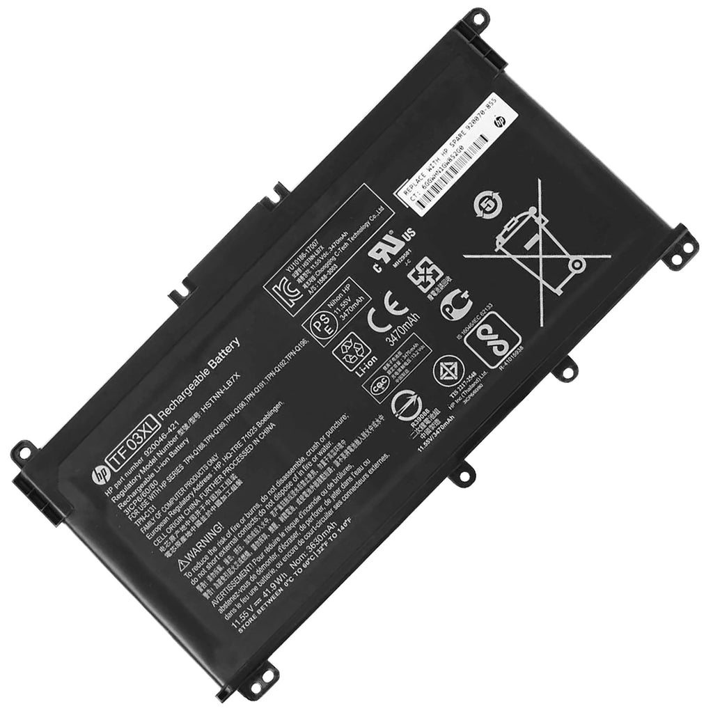 Battery Notebook HP Pavilion 15-CC, 15-CD Series TF03XL