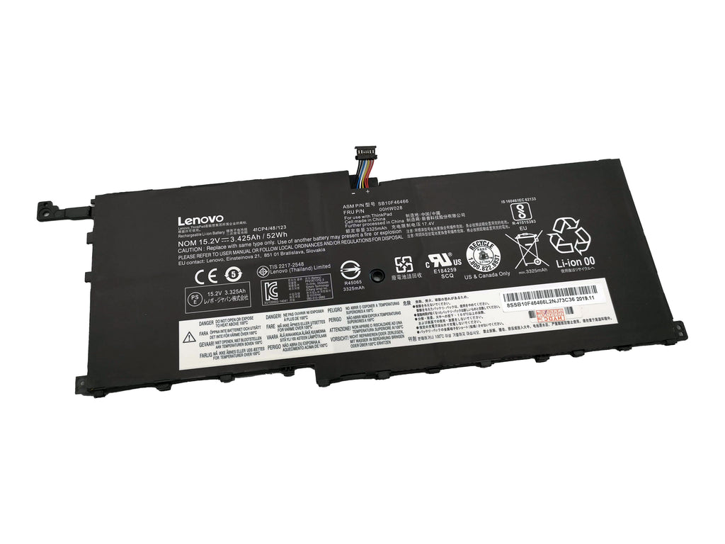 Battery Notebook Lenovo ThinkPad X1 Carbon Gen4 Series