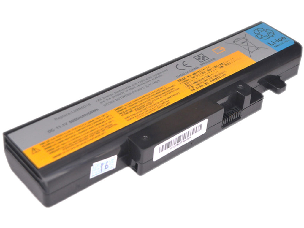 แบตเตอรี่ Battery Lenovo IdeaPad Y450 Y550 Series : ร้าน Battery Depot - 1