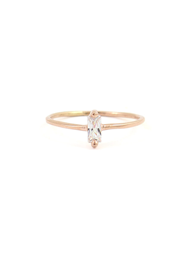 Treasure Baguette Ring
