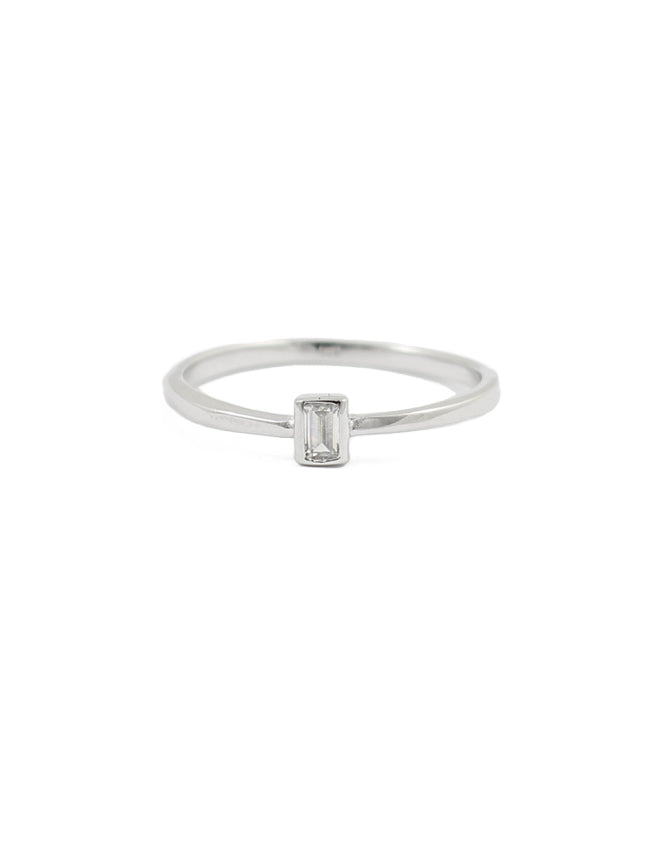 Poised Stacking Ring