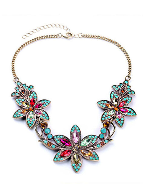 Bauhinia Flower Necklace