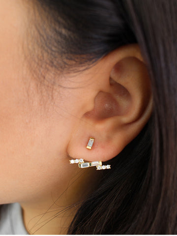 Zig Zag Lightning Earrings