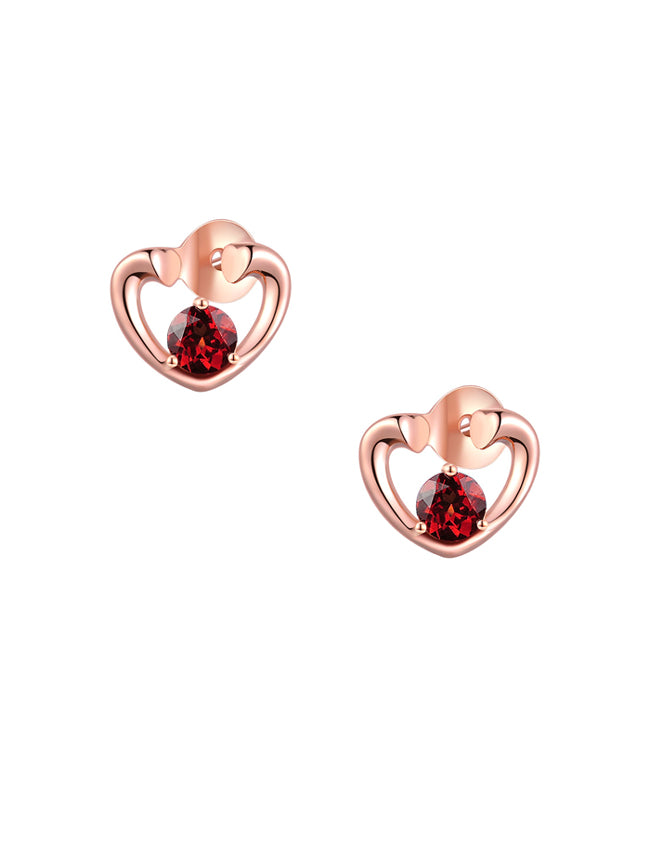 Queen of Hearts Studs