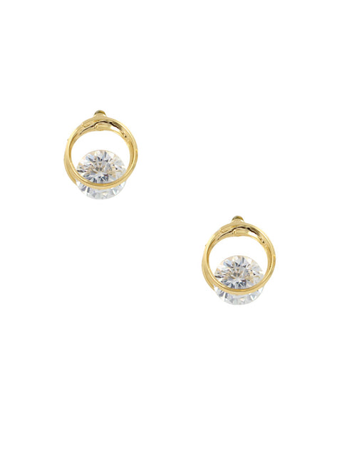Floating Diamond Studs