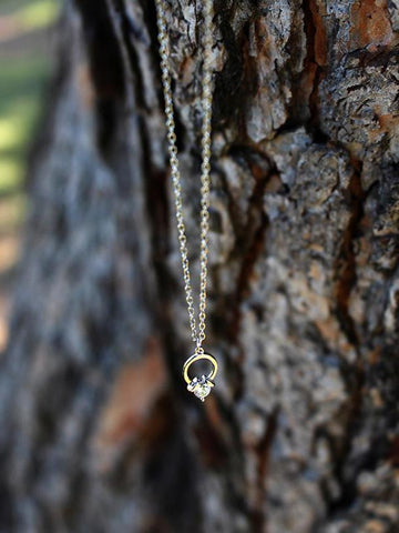 Lucid Ring Necklace